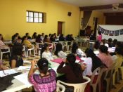 Workshop in La Antigua